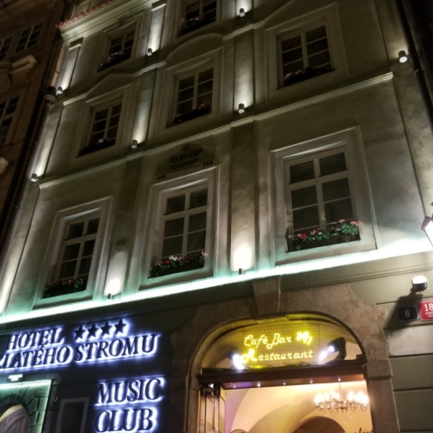 Hotel U Zlatého stromu, Prague