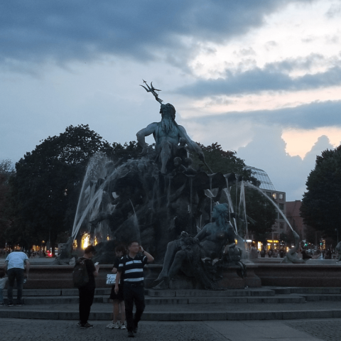 Neptune Fountain, Berlin