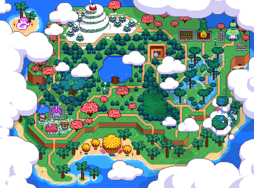 Moonshell Island Overview